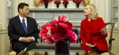 Who Chinese Want: Clinton, Trump & Cognitive Dissonance